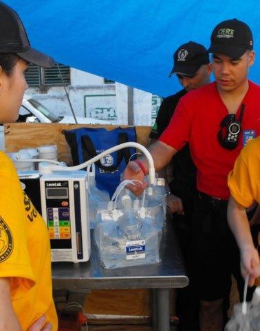 nước kangen được huy động trong động đất hati 2010